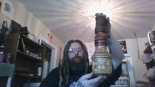 Thumbnail for video titled Our personal wooden water pipe!